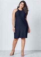 plus size casual a line dress