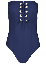 Alternate View Grommet Lace Up One-Piece
