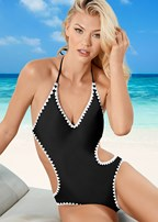 shell stitch monokini