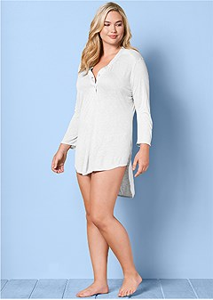 plus size home run tunic