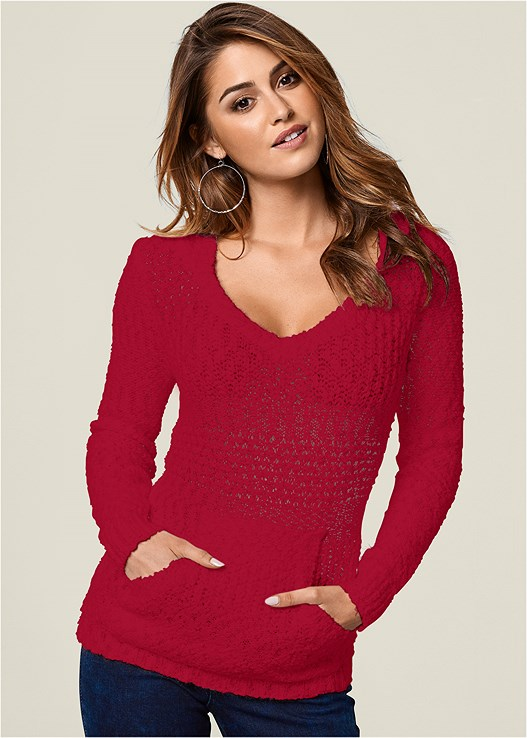 40e243ce66c COZY TEXTURED SWEATER