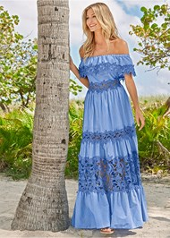Alternate view Lace Detail Maxi Dress