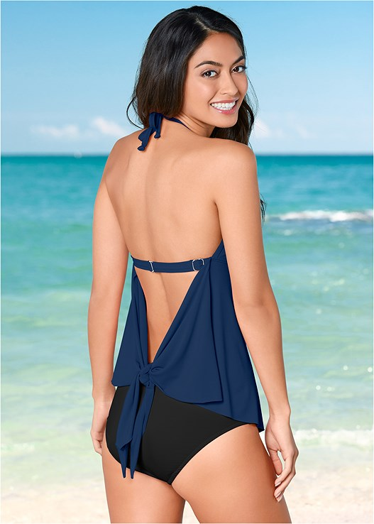 FLYAWAY TANKINI,MID RISE BOTTOM,MID RISE FULL CUT BOTTOM,ADJUSTABLE SIDE BOTTOM,SKIRTED SWIM BIKINI BOTTOM