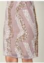 Alternate View Beaded V-Neck Dress
