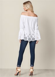Back View Off The Shoulder Tunic
