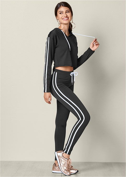CROPPED TRACK SUIT