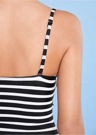 Alternate View Underwire Bandeau One-Piece