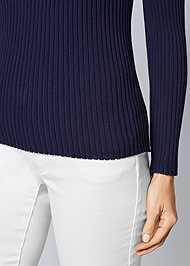 Alternate View Mock Neck Sweater