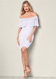 Alternate View Crochet Detail Dress