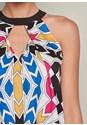 Alternate View Printed A Line Dress