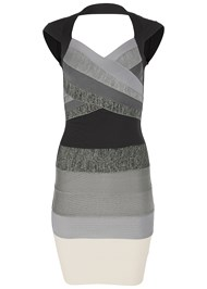 Alternate View Bandage Color Block Dress