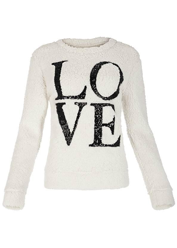 Alternate View Love Cozy Sweatshirt