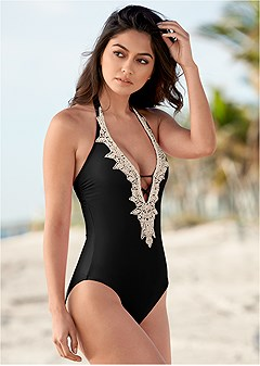 82c2679e5dc beaded crochet one-piece. beaded crochet one-piece.  79. more colors  available · perfect push up bikini bra