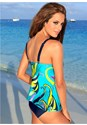 Back view Tie Front Tankini