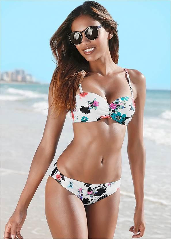 Low Rise Bikini Bottom,Triangle String Bikini Top