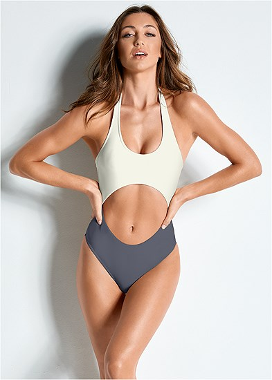 Versatility By Venus ™ Color Block Monokini