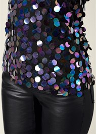 Alternate View Paillette Sequin Top