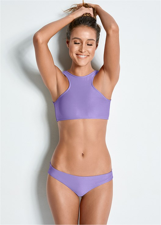 VERSATILITY BY VENUS ™ TWO IN ONE BIKINI TOP,VERSATILITY BY VENUS ™ LOW RISE RUCHED BOTTOM,VERSATILITY BY VENUS ™ BANDED BRAZILIAN BOTTOM,VERSATILITY BY VENUS ® BRAZILIAN BIKINI BOTTOM,VERSATILITY BY VENUS ™ REVERSIBLE HIGH CUT BOTTOM,VERSATILITY BY VENUS ™ REVERSIBLE RETRO BOTTOM