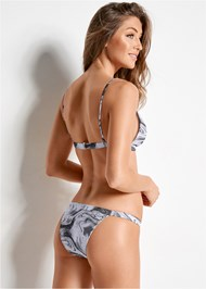 Back view Versatility By Venus ™ Fixed Triangle Bikini Top