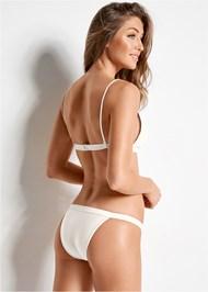 Back view Versatility By Venus ™ Fixed Triangle Bikini Top