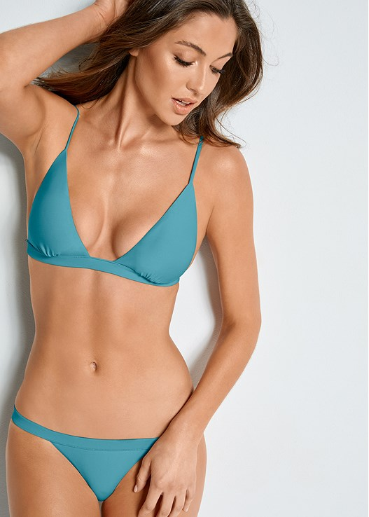 905c90374183b Nile Green FIXED TRIANGLE BIKINI TOP from VENUS