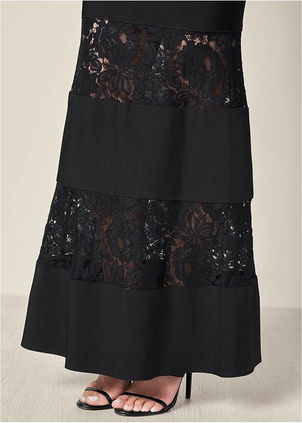 Alternate View Bandage Lace Detail Dress