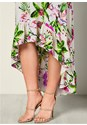 Alternate view Lace Up Floral Dress