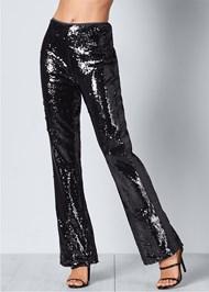 Front View Sequin Pants