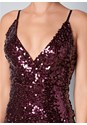 Alternate View Ombre Sequin Mini Dress