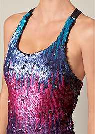 Alternate View Sequin Detail Dress
