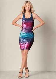 Alternate View Sequin Detail Dress
