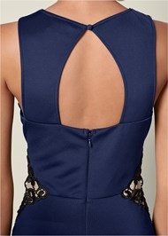 Alternate View Lace Waistband Trim Top