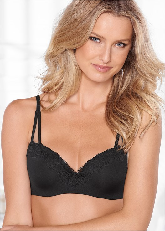 EVERYDAY SEAMLESS LACE BRA,LACE PANTIES 3 FOR $19