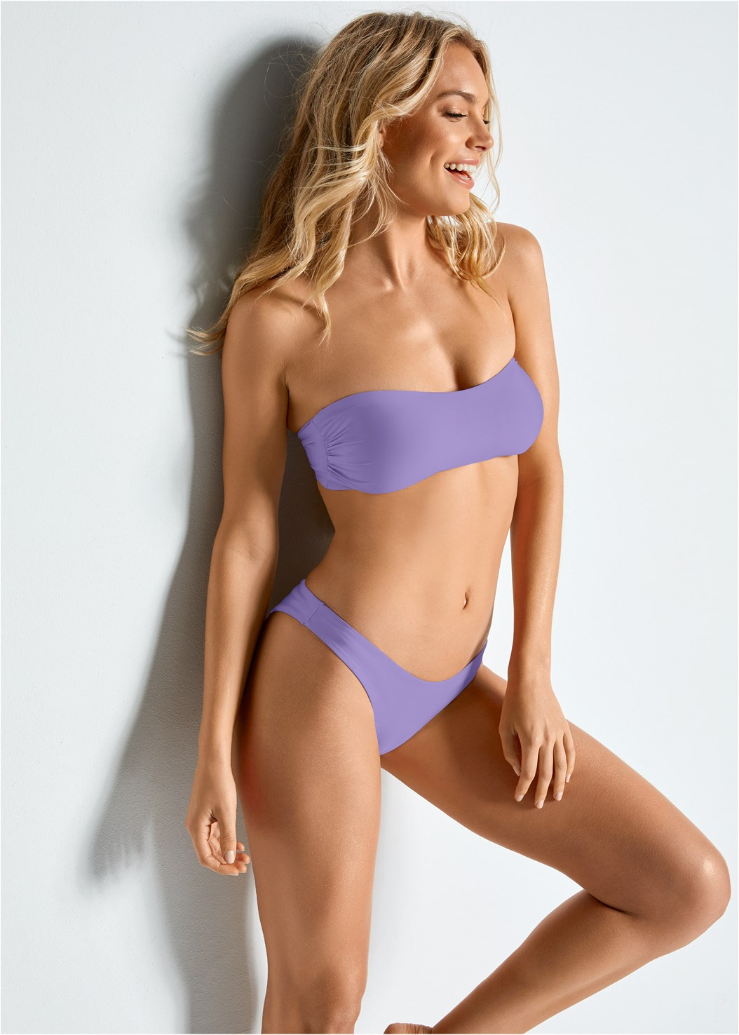 Versatility By Venus™  Reversible Bandeau Top,Versatility By Venus ™ Reversible High Cut Bottom