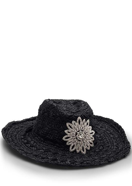EMBELLISHED COWBOY HAT