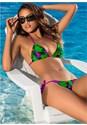 Front View Triangle Bikini Top