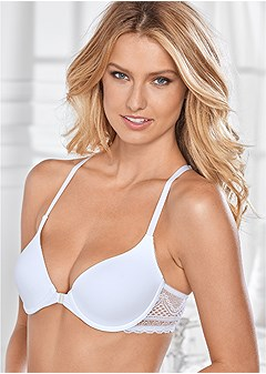 lace t-back everyday bra