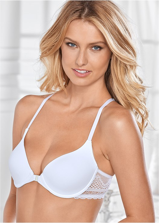 LACE T-BACK EVERYDAY BRA,LACE THONG 3 FOR $19