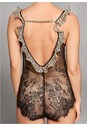 Alternate View Sheer Lace Cheetah Bodysuit