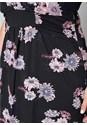 Alternate View Floral Printed Dress