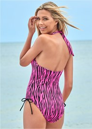Back view Adjustable Side One-Piece
