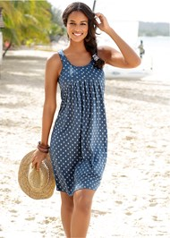 Front View Print Casual Dress