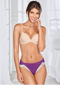 hi-cut bikini brief panties