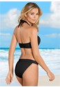Back view Grommet Lace Up Bikini Top