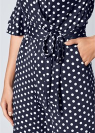 Alternate View Polka Dot Jumpsuit