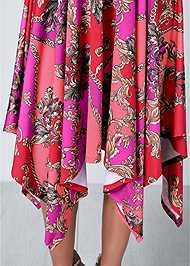 Alternate View Halter Handkerchief Dress