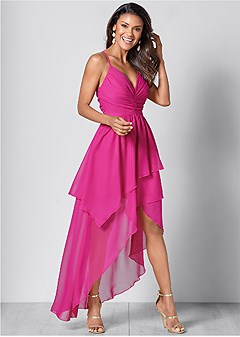d5b0121c21d ruffle detail long dress