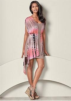 asymmetrical casual dress