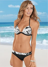 Front view Fold Waist Bikini Bottom