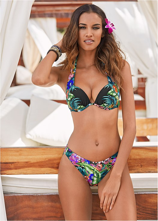 07351bc8e3 SCOOP FRONT BIKINI BOTTOM in Amazon Nights